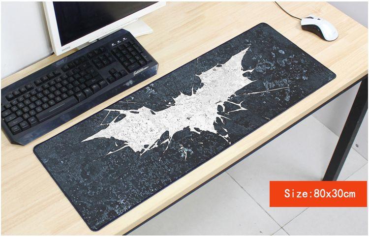 Бэтмен Коврик 800x300 мм коврик для мыши компьютер Аниме Коврик для мыши kitty игровой padmouse геймер к герои клавиатура коврики для мыши