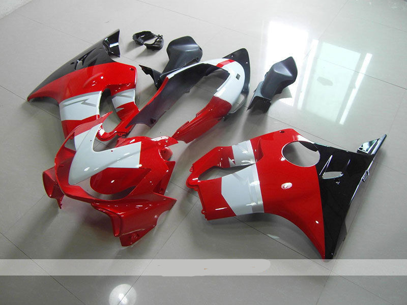 New ABS motorcycle Body fairings kit Fit for Honda CBR600F4i CBR 600 FS F4i 2004 2005 2006 2007 04 05 06 07 fairings white red
