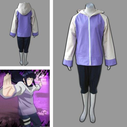 Halloween costume for women adult naruto Hyuga Hinata cosplay costumes anime clothes for girls jacket Sportswear two pieces sets