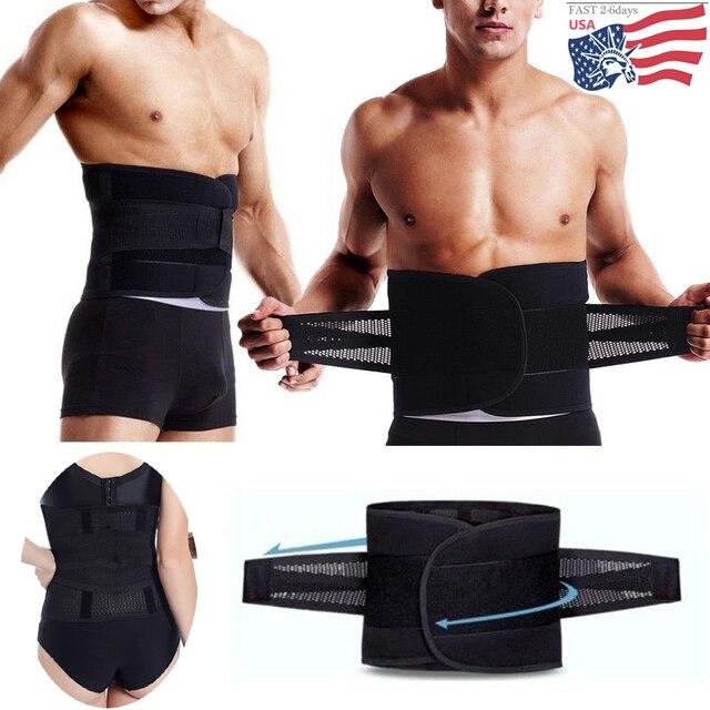 Back Support Sport Accessories Brace back Belt Lumbar Belt Lower Back Pain Waist Double Adjust Relief Waist Support lumbar