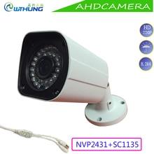 1.0MP 720 P АХД Пуля Камеры 1/3 CMOS модуль OSD Motion камера открытый водонепроницаемый ИК Ночного Видения безопасности cctv montior камеры