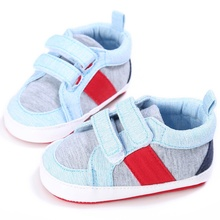 First Walkers Infant Baby Boys Sneakers Cotton Soft Bottom Casual Kids Shoes Size 0-18M