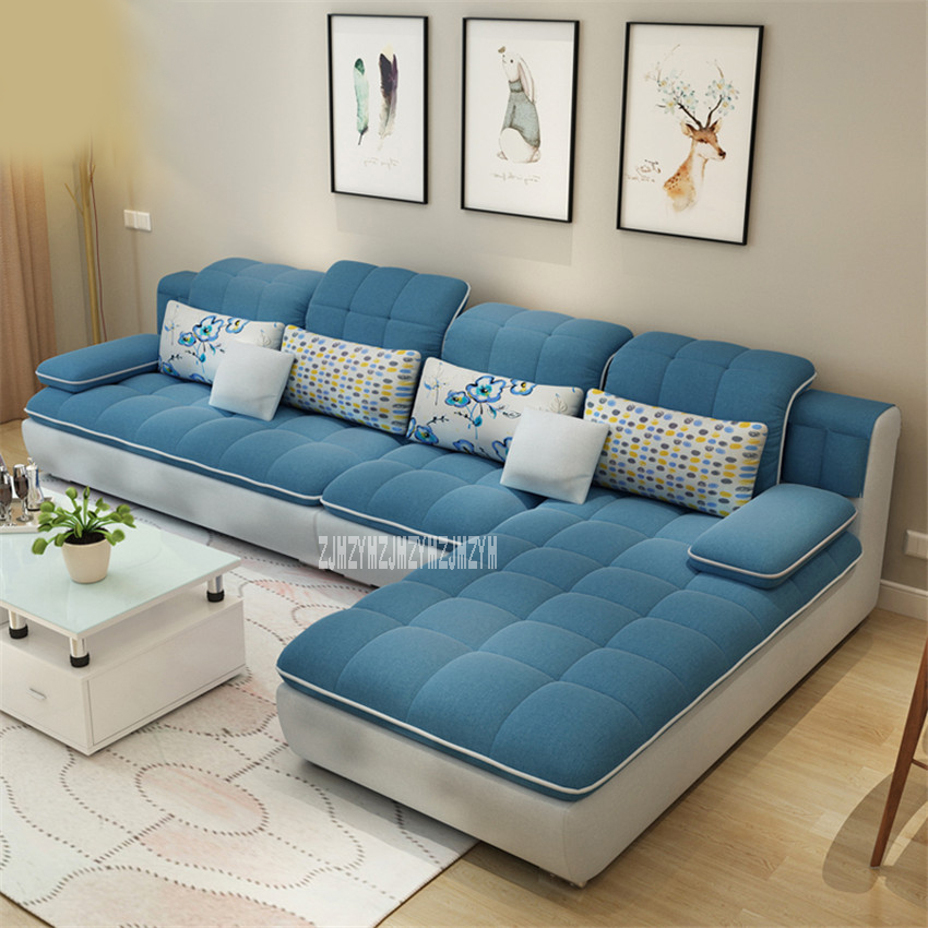 Living Room Sofa Combination Home Furniture Sofa Set L