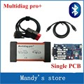 Quality A+ Single Board PCB with nec reply Multidiag pro+ with Bluetooth TCS CDP PRO Multi diag pro+ cars trucks diagnostic tool