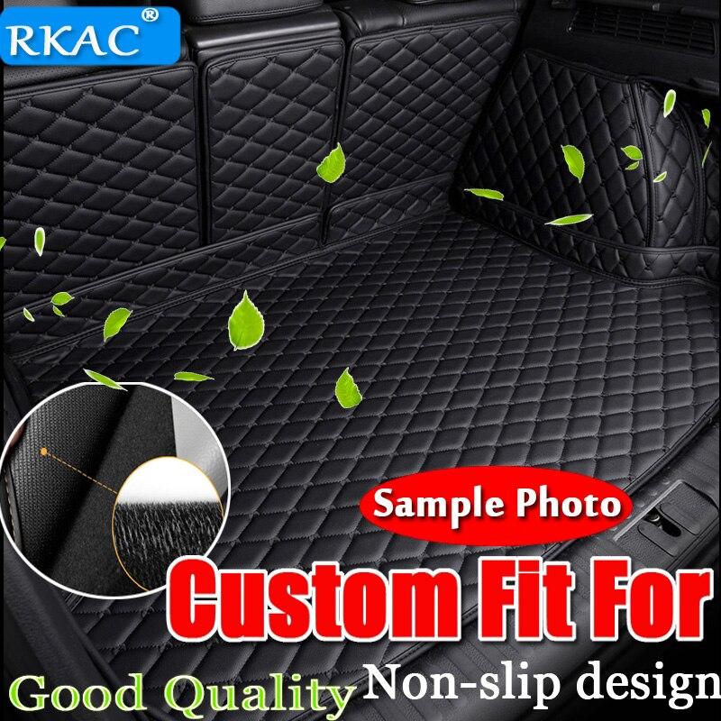 Tapis de coffre de voiture personnalisé RKAC pour BMW X3 e83 f15 bmw x6 f16 f30 g30 f10 f11 revêtement de chargement accessoires intérieurs tapis style de voiture