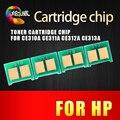 4 PCS 310 CE311A CE312A CE313A 126A CP1025 CE310A Toner reset chip para hp cp1025nw m175a m175nw m275mfp m175a m275a impressoras