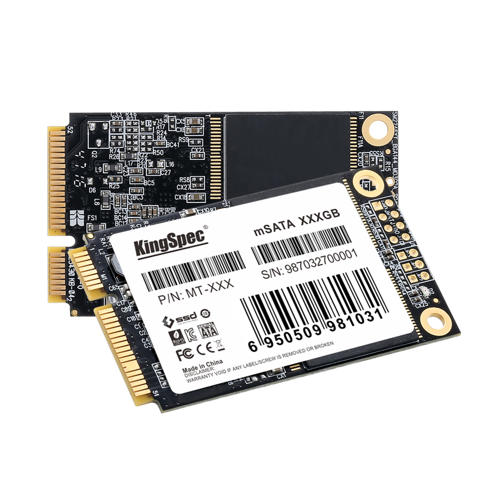 KingSpec <font><b>120</b></font> <font><b>gb</b></font> 240GB 256GB <font><b>SATA3</b></font> mSATA Internal <font><b>SSD</b></font> Hard Drive Solid State Disk Mini SATA for Laptop PC Desktop Free image
