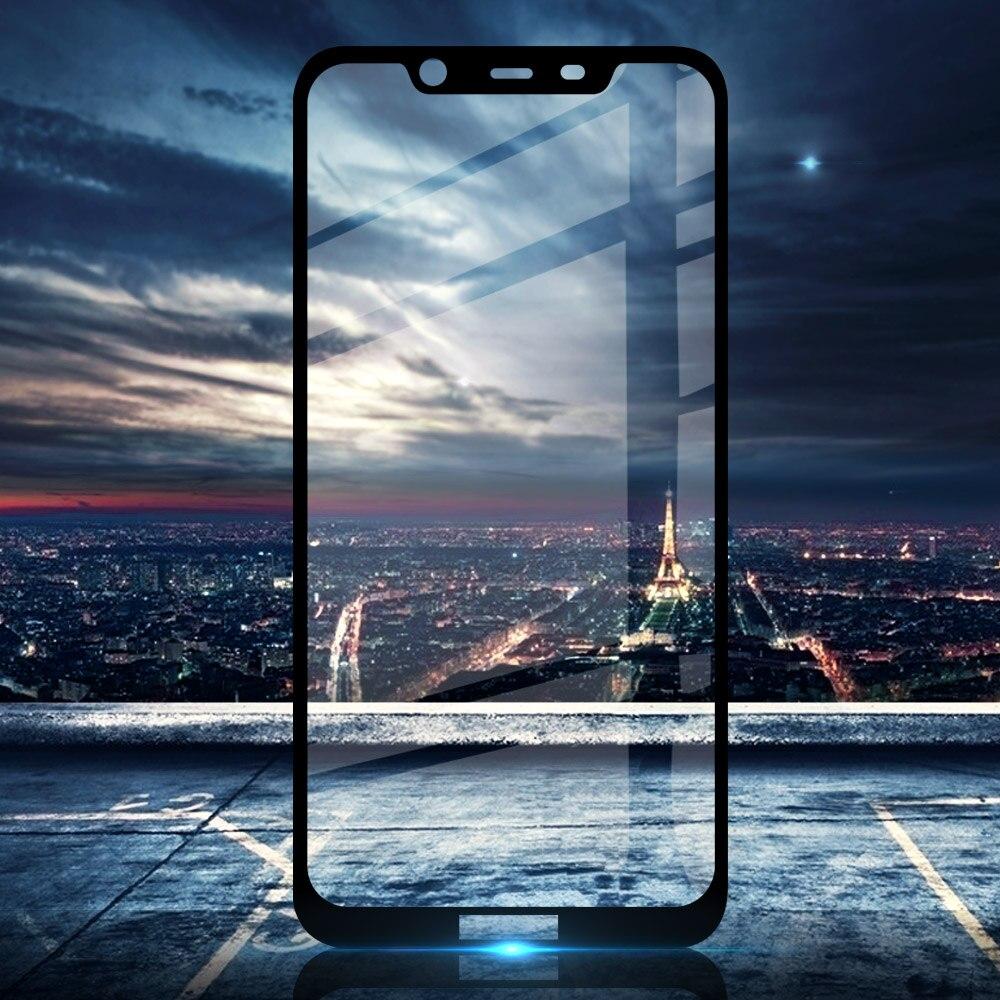 Full Cover For Nokia 8.1 Tempered Glass Screen Protector For Nokia 7.1 Plus Nokia 8.1 2018 Nokia X7 TA-1119 TA-1128 6.18