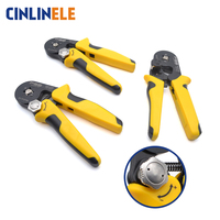 VSC9 10 6 0.08 10mm 40 7AWG Adjustable Precise Hexagon Tube Bootlace Terminal Crimping Pliers Crimp Hand Tools HSC8 6 6 6 4