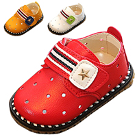 3-color Casual star Children Shoes Candy Color Girls Shoes New Summer Autumn Baby boys Kids Soft Single Shoes Size 15-19