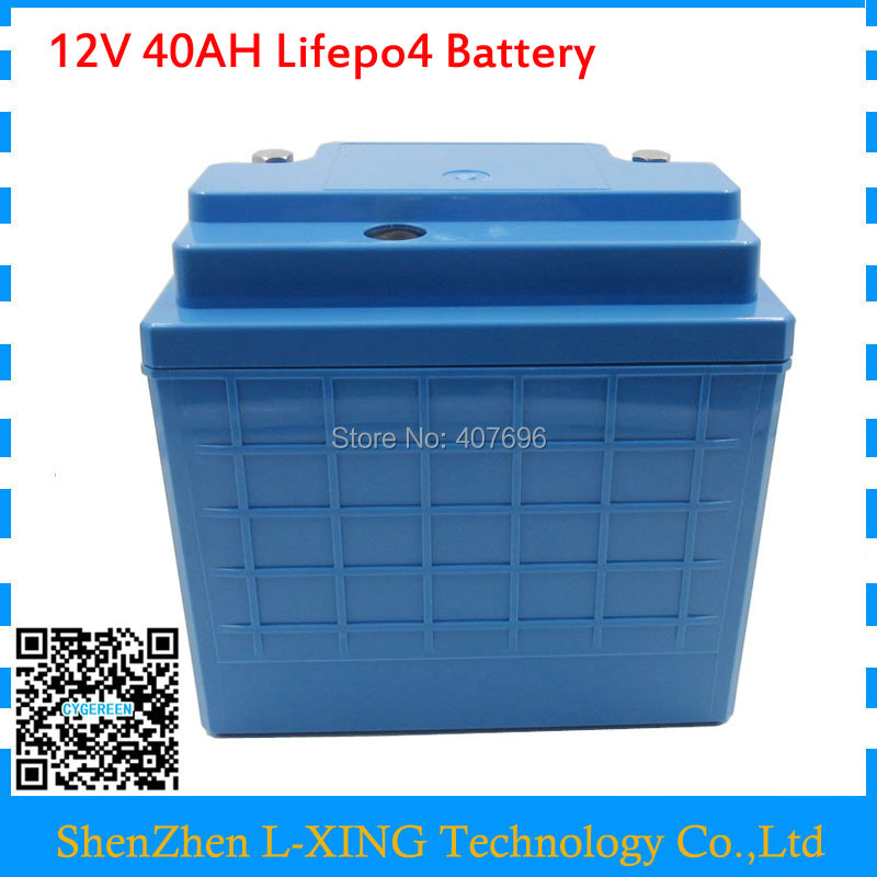 Free customs fee 12V 4S lifepo4 battery 12V 350W 12V 40AH battery 12 V 40000MAH lifepo4 battery with 14.6V 5A Charger 73v 5a 20s lifepo4 battery charger 60v 5a charger for lifepo4 battery