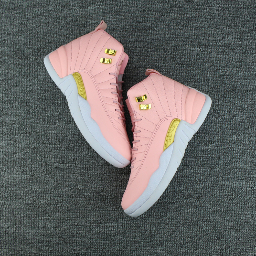 07aa1ca8310b 2018 Jordan 12 women Basketball Shoes Metallic women Sneaker Sport Shoes  comprehensive Breathable Height Increasing 36 40-in Basketball Shoes from  Sports ...