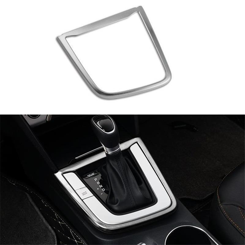 Auto Cup Control System Gear Automobile Chromium Upgraded Modified Car Styling Parts Covers Sticker 17 18 19 FOR Hyundai Elantra(China)