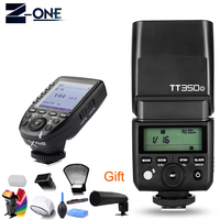 Godox Mini Speedlite TTL TT350O High Speed 1/8000s GN36+2.4G wireless Power Flash Trigger Xpro O For Olympus/Panasonic+Free Gift
