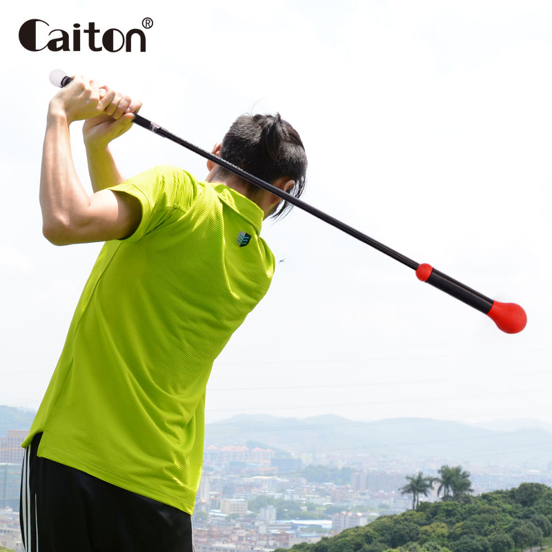 Caiton Patent new golf swing trainer Golf training aids Golf soft pole swing bar golf training aids new blue weight clamp 3pcs sets power swing ring for golf clubs swing mat warm up