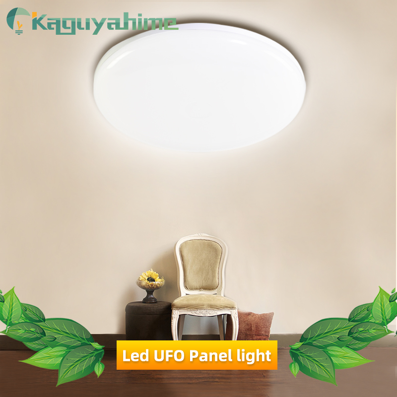 Kaguyahime Round LED Panel Lamp AC 85-265V LED Surface Ceiling Square Light 36W 24W 18W Modern Ceiling Lamp For Decoration Home