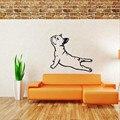 Бесплатная Доставка-Французский Бульдог Собака Наклейки На Стены Виниловые Наклейки-бульдог Стрейч Обои Wall Art Животных Home Decor дизайн