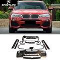 X4 F26 PP M Sport Car-Styling Auto Bumper Body Kits For BMW X4 F26 2014UP