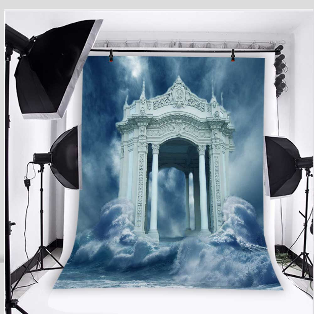 Castle Photography Backdrops Children Photo Props Baby Fantasy Background for Studio Vinyl 5x7ft or 3x5ft Jiemh096 moon photo background fantasy studio props vinyl children photography backdrops baby 5x7ft or 3x5ft jiemh184