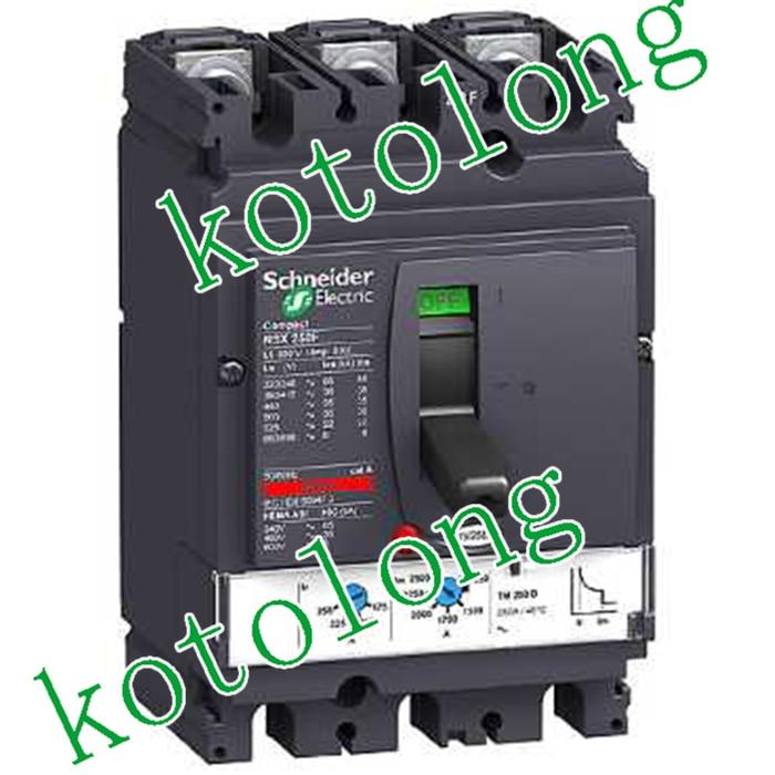 Compact NSX250F TMD 3P LV431630 3P-250A LV431631 3P-200A LV431632 3P-160A LV431633 3P-125A compact nsx160b tmd 3p lv430310 3p 160a lv430311 3p 125a lv430312 3p 100a lv430313 3p 80a