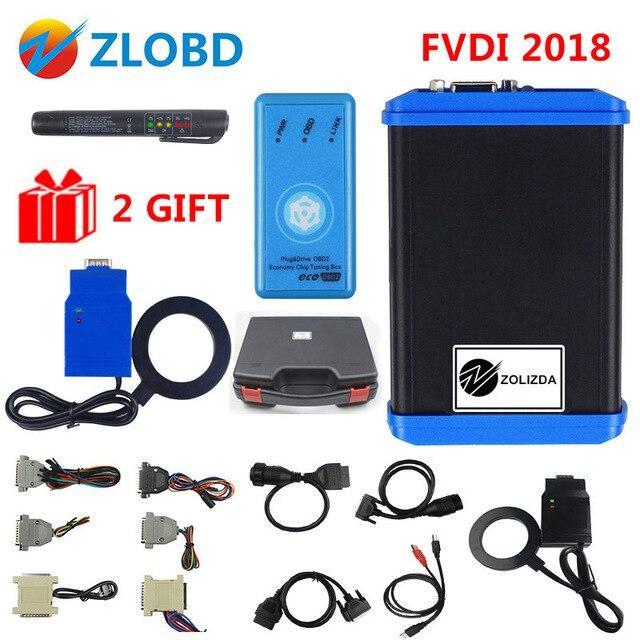 FVDI V2018 Original FLY FVDI ABRITES Commander FVDI Full Version 18 Software VVDI No time limited V2014/2015 FVDI DHL Free