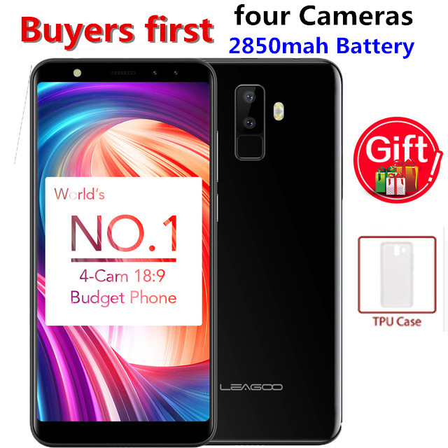 LEAGOO M9 3G Smartphone 5 5 18 9 Full Screen Android 7 0 MT6580A Quad Core