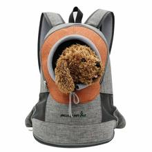 Yooap Pet supplies out portable backpack cat travel bag fashion breathable outcrop pet dog front mesh