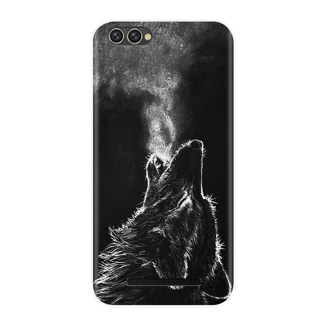 Phone Case For Doogee X30 5.5 inch Soft Silicone TPU Cute Cat Painted Back Cover For Doogee X30  Case