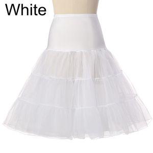 Image 3 - Jupon court en Organza, Crinoline, tenue dhalloween ou robe de mariée Vintage, Tutu sous jupe Rockabilly