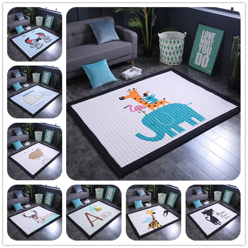 Baby Play Floor Mats Childrens Thickened Tapete Infantil Baby Room Crawling Pad Kids Carpet Modern Home Area Rugs and carpetsBaby Play Floor Mats Childrens Thickened Tapete Infantil Baby Room Crawling Pad Kids Carpet Modern Home Area Rugs and carpets