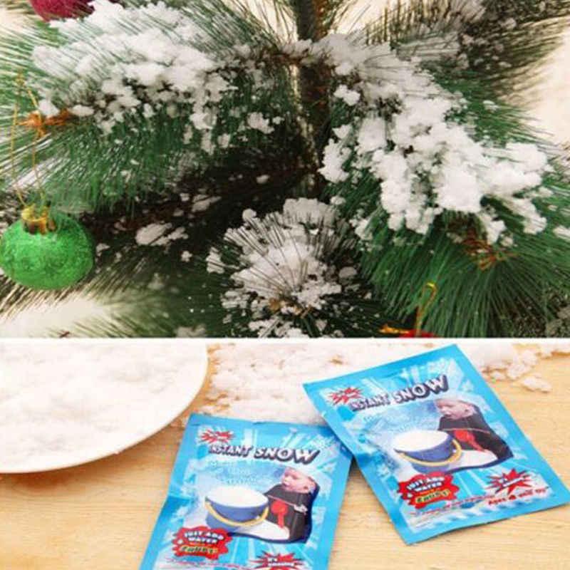 10 chiếc/1 Giả Magic Liền Tuyết Lông Tơ Thấm Hút Cho Giáng Sinh Tiệc Cưới Giả Tuyết cho Bé Chơi vui chơi Tuyết Nhân Tạo