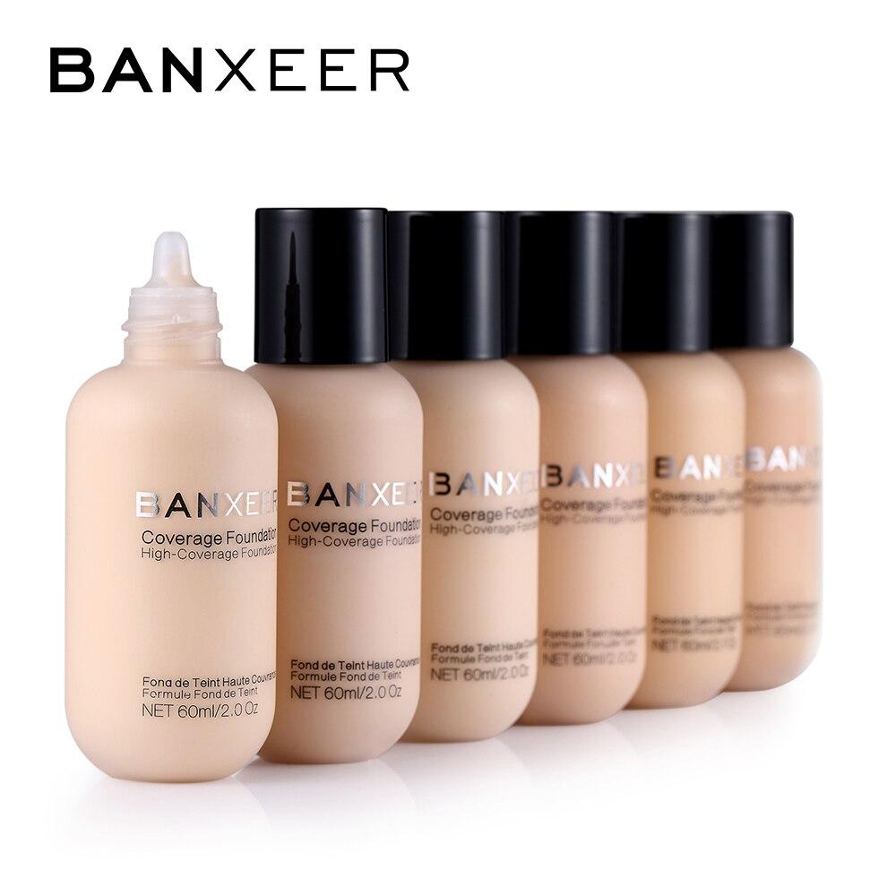 Водостойкая основа для макияжа BANXEER, Жидкая основа под макияж для женщин