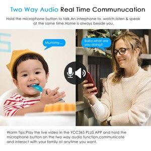 Image 4 - Cámara IP inalámbrica CCTV 1080P 720P para bebés, Monitor de seguridad para el hogar, visión nocturna infrarroja, vídeo de vigilancia, cámara con seguimiento automático