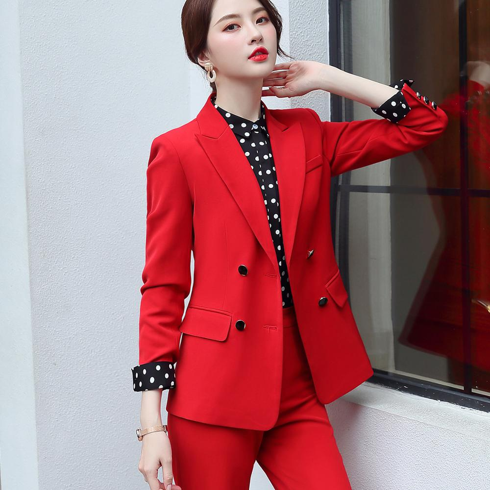 Elegant Long ladies blazer with buttons Women Solid Jacket of high quality Fashion Outwear coat Black Pink White;Blue Champagne 4