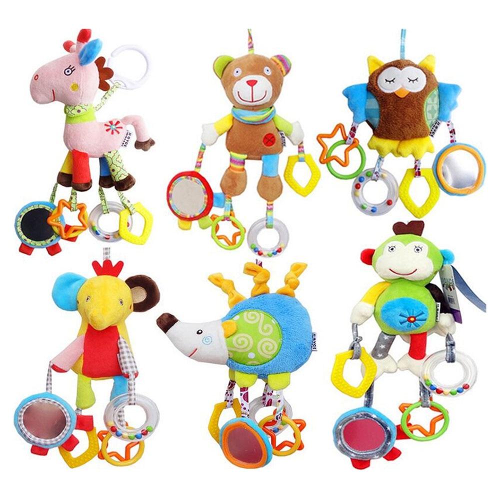 Newborn Baby Kids Boy Girl Симпатичні бавовняні - Іграшки для малюків