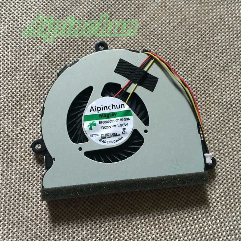 Aipinchun New CPU Cooling Fan For DELL inspiron 3521 3537 3721 5521 5721 5535 5537 P27F 2521 Cooler Radiators Laptop Fan