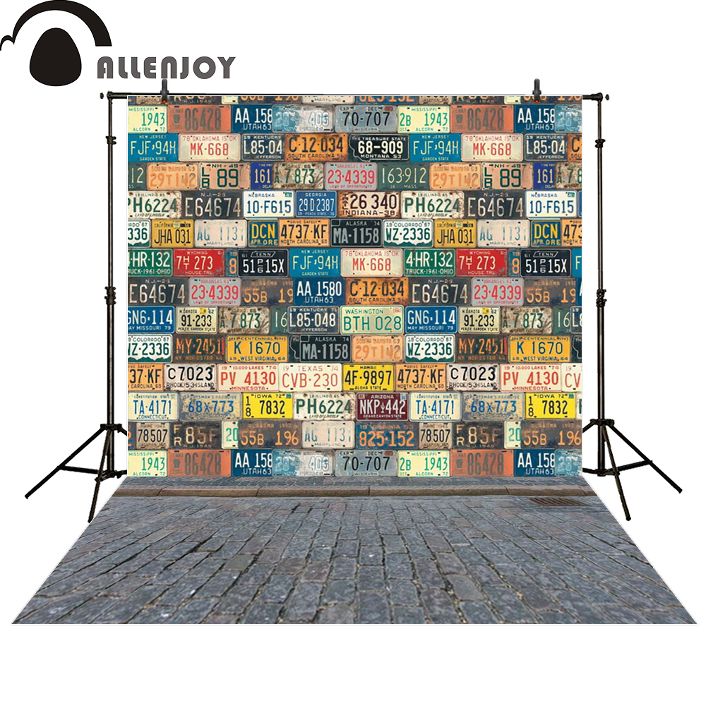 Pics photos desk with flag in background photographic print by - Allenjoy Backgrounds For Photo Studio Vintage Cars License Plate Lattice Modern Computer Printing Newborn Photo Studio
