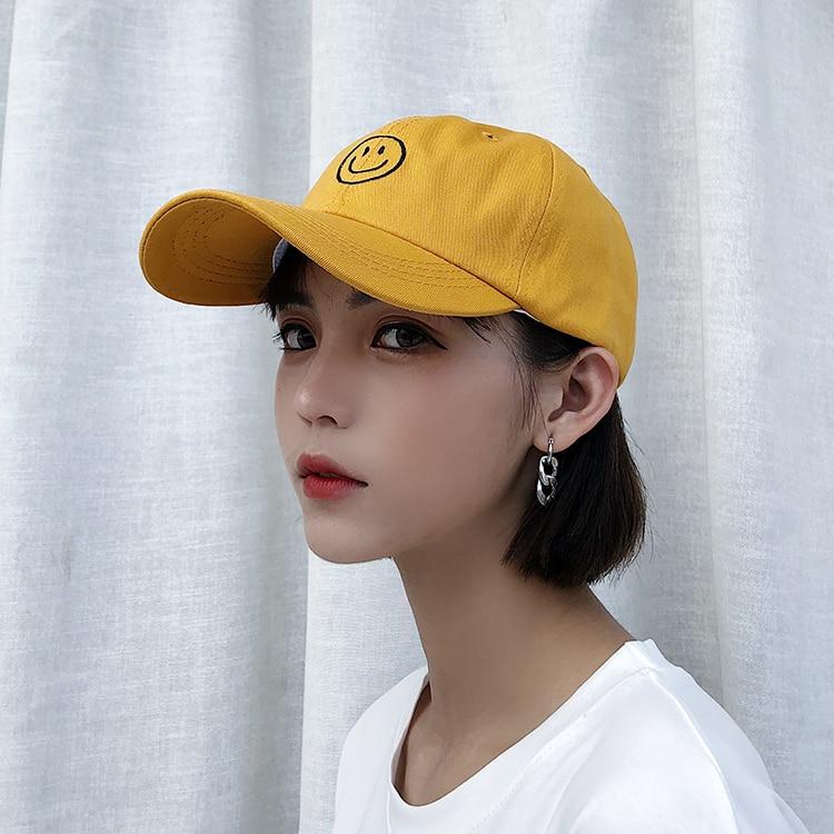Casquette Femme 2018 Korean Ulzzang Harajuku Casual Lovely   Baseball     Cap   For Women Hat Summer Street Tide Snapback Hats Couples