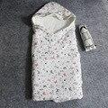 80*80 СМ Новорожденный постельные принадлежности охватывает одеяло месячных младенцев ковылять ребенка спать мешок детские одеяла новорожденных пеленать конверты для новорожденных