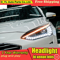New design For ford Focus head lamps 2019 bi xenon lens HID KIT headlights led drl dynamic turn signal car styling