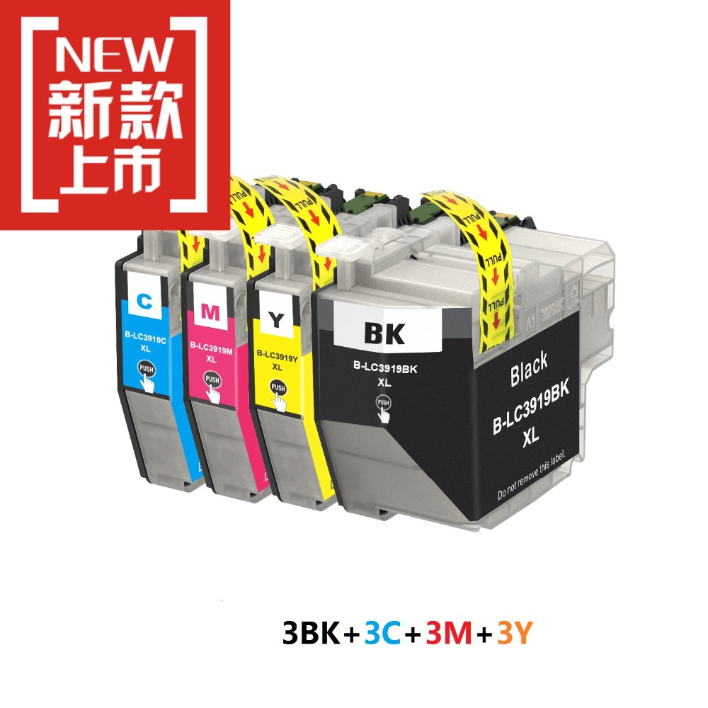 INK WAY 12PK LC3619 Compatible ink Cartridges for Brother MFC J2330DW MFC J2730DW MFC J3530DW MFC