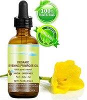 Organic Evening Primrose Oil . 100% Genuine / Natural / Organic Certified / Strap Oil . Rich Antioxidant