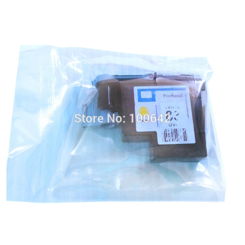 YOTAT 1 piece Yellow C4963A for HP83 HP 83 printhead Designjet 5000 5000ps 5500 5500ps print head for HP83 new original for hp designjet 5000 5000ps 5500 5500ps q1253 60041 c6095 60186 ink tubes assembly dey 60 inch plotter parts