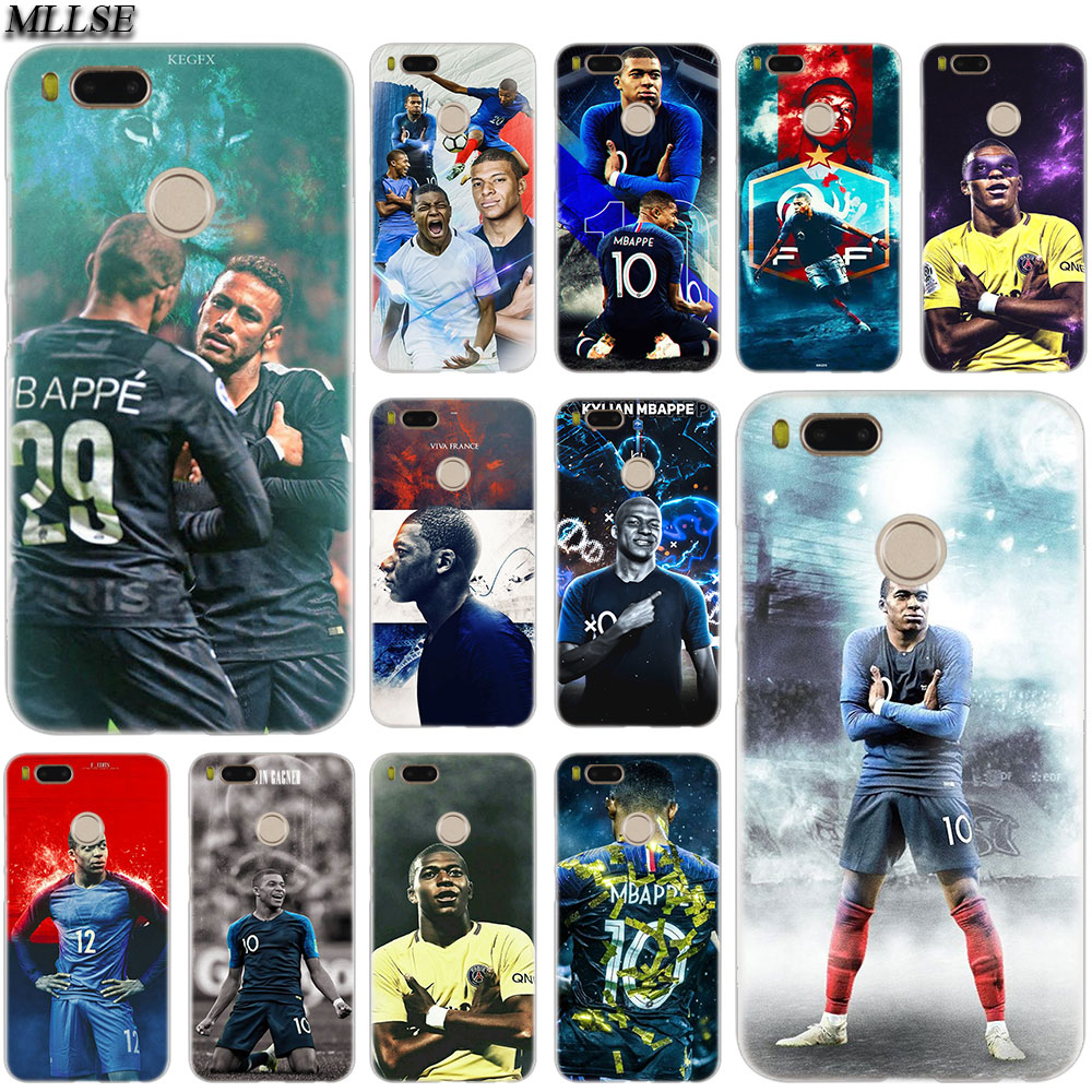 MLLSE Footballer Kylian Mbappe Case Cover for Xiaomi Mi Play