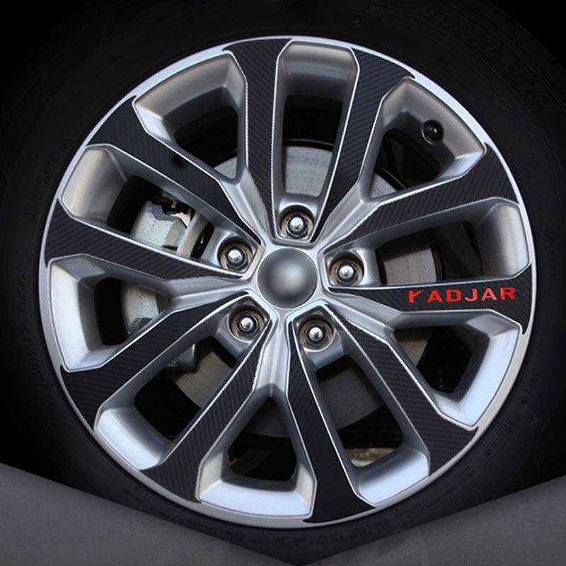 pour Renault KADJAR Kick Plates Bienvenue P/éDale Seuil Porte Plaques Protection Car Accessoire D/éCorationde Style YFBB 4Pcs Voiture Fiber Carbone Plinthes