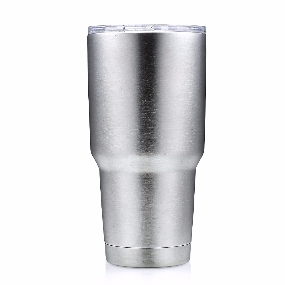 20 30 Oz Stainless Steel Tumbler Large Double Wall Beer