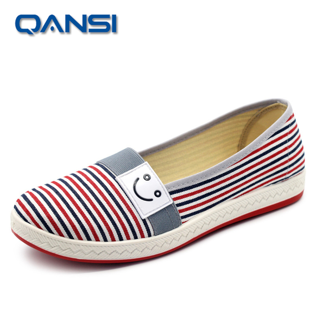 2016 Summer soft insole Shallow Mouth Woman Casual Shoes Comfortable daily footwear Slip On Female Flats Flexible Driving shoes