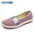 2016 Verano suela suave Boca baja Mujer Zapatos Casuales diaria Cómodo calzado Slip On Pisos Femeninos zapatos de Conducción Flexibles