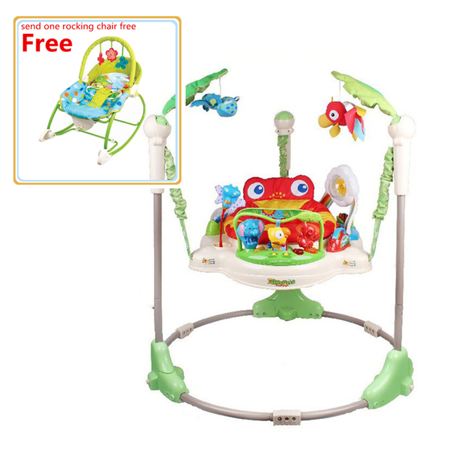 512c2751e Free Rocking Chair Rainforest Jumperoo Music Baby Jumper Activity ...