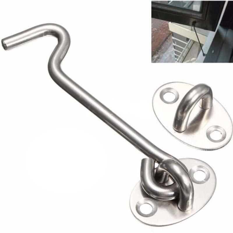 herramienta de accesorios giratorios Gancho de puerta de acero inoxidable para puerta de puerta puerta con cerradura soporte silencioso